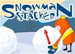 Играть в SnowmanStacker