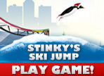 Play Stinkys Ski Jump