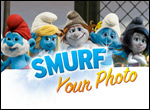 Jouer à Smurf Photo